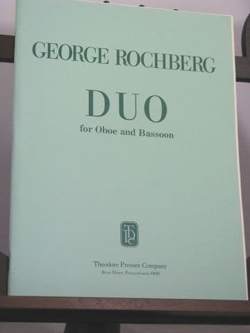 Rochberg G - Duo for Oboe & Bassoon